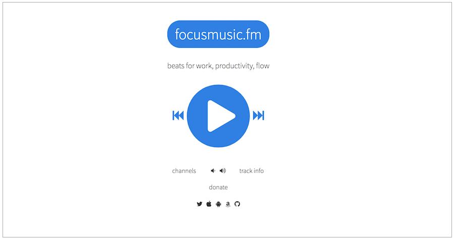 focusmusic.fm 專注音樂