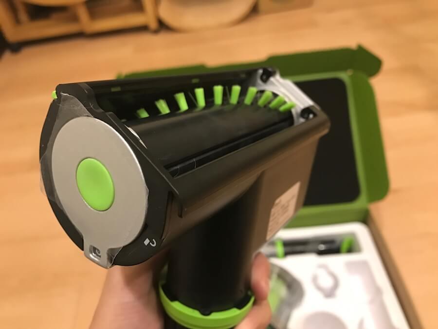 電動滾刷吸頭 小綠