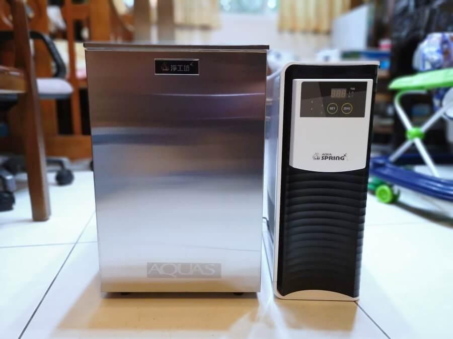 淨工坊AQ803 + RO505廚下型淨水器開箱