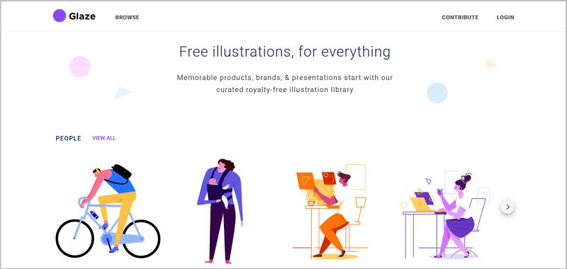 Glaze素材網站