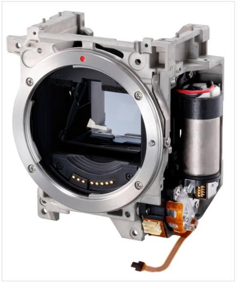 EOS 1D X Mark III 反光鏡控制系統