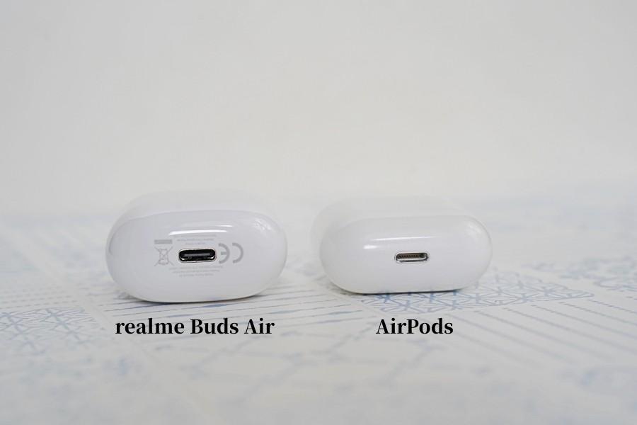 realme Buds Air AirPods 比較