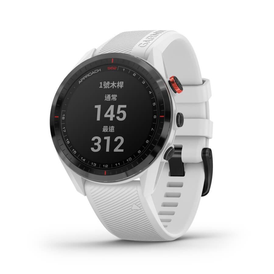 備專屬虛擬桿弟,Garmin Approach S62進階高爾夫GPS腕錶