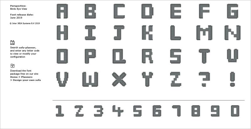 Soffa Sans 字體鳥瞰