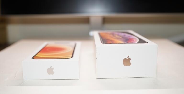 iPhone 12 mini 盒子